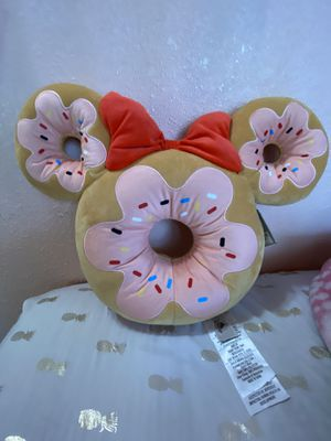 Disney Scented donut pretzel pillow ( out of stock resort wide) for Sale in Downey, CA