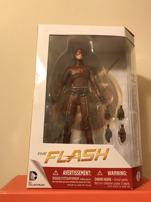 """Dc CW Network Series """"The Flash"""" Figure Around 7 Inches Tall New for Sale in Reedley, CA"""