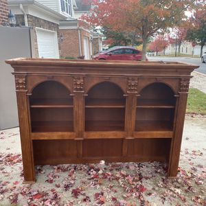Executive desk with light up hutch for Sale in Raleigh, NC