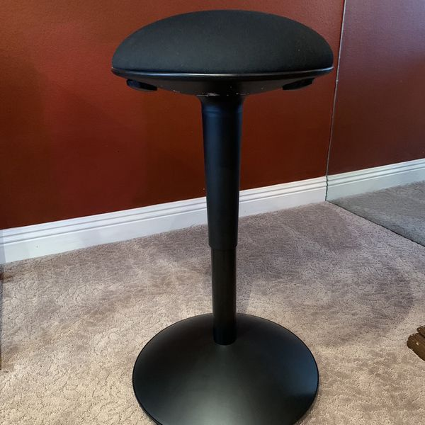 Standing support office stool chair