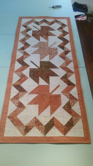 Fall Table Runner (Quilted) for Sale in Klamath Falls, OR