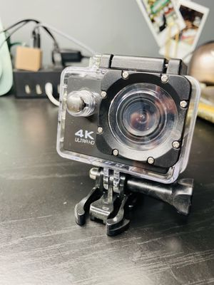 4K Sports Camera Action Waterproof New Black Silver and Blue Ultra HD with WIFI for Sale in Secaucus, NJ