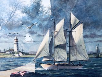 Sail boat painting for Sale in Glendale,  AZ