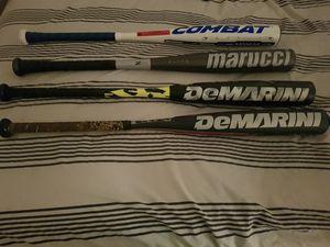 Combat,Demarini, Marucci baseball bats for Sale in Miami, FL