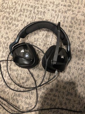 Corsair Void pro USB gaming headset for Sale in Farmville, VA