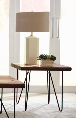 LOW PRICE: Montomery Natural Honey End Table - $139 for Sale in El Monte, CA