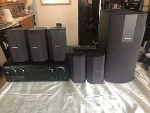 Panasonic -SA-HT275- Home Theatre (Dolby 5.1/DTS) COMPLETE w/Mounting Brackets for Sale in Brooklyn, NY