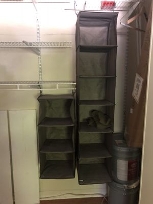 Closet hanging organizers for Sale in Atlanta, GA
