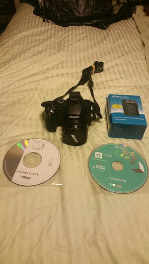 Nikon p500 12.1 megapixels digital camera black with accessories for Sale for sale  Marietta, GA