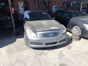 2009 infinity G37 for part for Sale in Chula Vista, CA