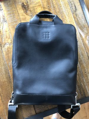 Slim leather backpack Moleskin for Sale in New York, NY