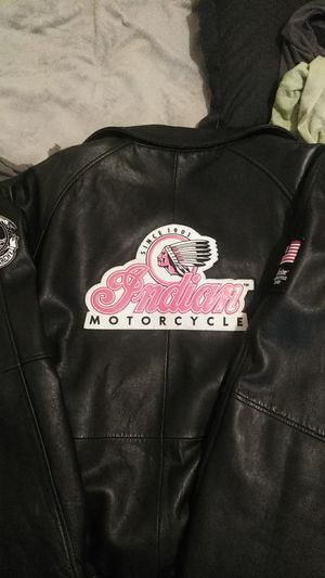 Indian Motorcycle Leather Jacket for Sale in Chandler, AZ