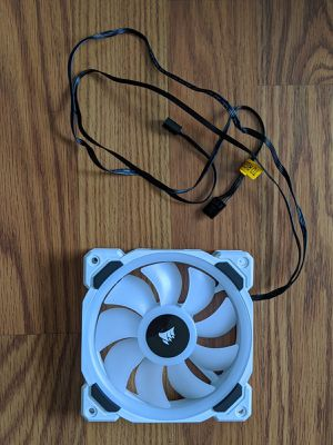 Corsair LL120 White Dual Light Loop RGB Single Fan for Sale in Gainesville, FL