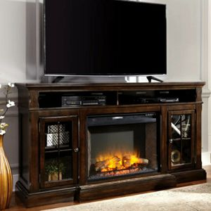 Roddinton Dark Brown Casual XL TV Stand | W701-88 🚚SAME DAY DELIVERY /ın stock for Sale in Silver Spring, MD