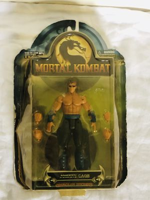 Jazwares Mortal Kombat Shaolin Monks JOHNNY CAGE Action Figure New Toy 2005 for Sale in COCKYSVIL, MD