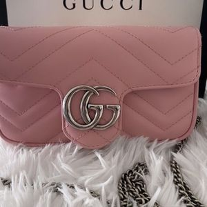 GG Marmont Super Mini Bag- Pastel Pink for Sale in Las Vegas, NV