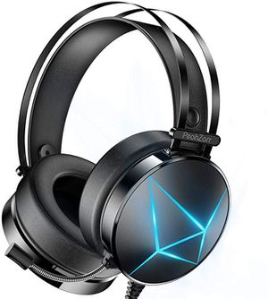 Gaming Headset Xbox One Headset PS4 Headset with 7.1 Surround Sound PC Headset with Mic & Light, Over Ear Headphones for Sale in Hacienda Heights, CA