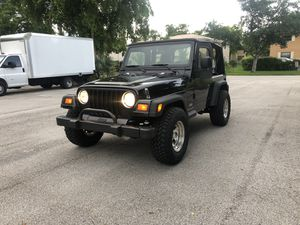 2003 JEEP WRANGLER SE 4X4 for Sale in Tamarac, FL