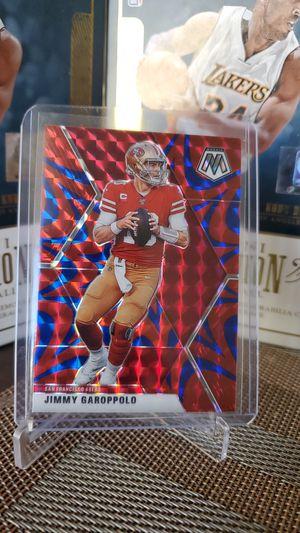 49ers Jimmy Garoppolo refractor card for Sale in Bellflower, CA