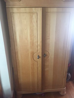 Beautiful Solid Wood Armoire for Sale in Winchester, MA