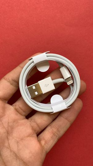 Original Apple lighting to USB Cable Charger -iPad/iPhone/iPod/data cable 3ft for Sale in Lynwood, CA