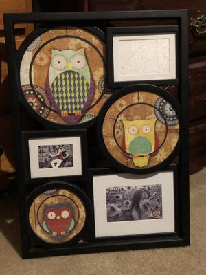 Owl picture frame for Sale in Delaware, OH