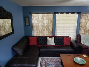 Leather Sectional Couch for Sale in Round Rock, TX