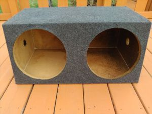 12 inch Subwoofer Box for Sale in Missoula, MT