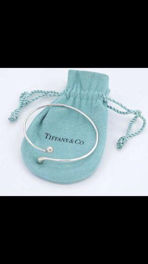 TIFFANY & Co Tear Drop Bracelet Signed Peretti Silver 925 Bangle Bracelet for Sale in Winter Springs, FL