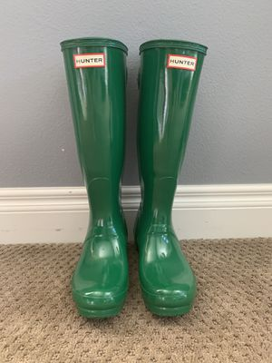 Hunter rain boots size 7 women's for Sale in Temecula, CA