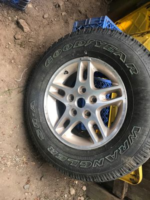 Jeep tire and rim. Only one for Sale in Kent, WA