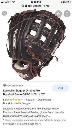 Louisville Omaha Pro baseball glove for Sale in Gainesville, VA