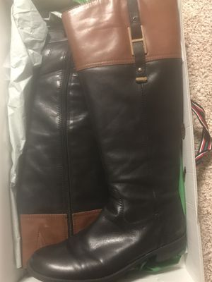 Tommy Hilfiger two tone riding boots for Sale in Brick Township, NJ