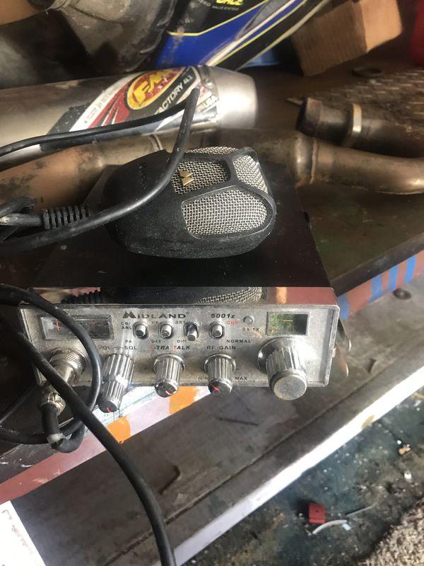 Midland CB radio with a K30 antenna!