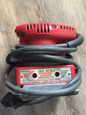 Milwaukee Finishing Sander for Sale in Wichita, KS
