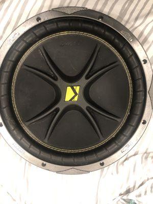 "12"" kicker speaker for Sale in Houston, TX"
