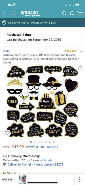 Photo booth props for Sale in Mount Vernon, WA