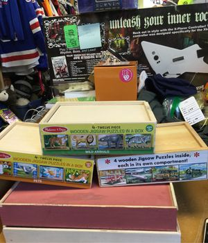 Melissa and Doug jigsaw puzzles for Sale in Matawan, NJ