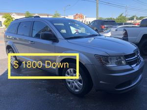 2017 Dodge Journey $ 1800 Down Payment for Sale in Nashville, TN