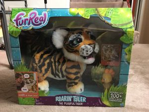 FurReal Friends Roarin' Tyler The playful tiger toy (Brand New) for Sale in Roselle, IL