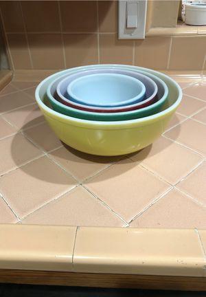 Vintage Pyrex nesting bowls for Sale in La Habra Heights, CA
