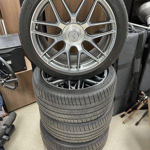 "S63 AMG Cross Spoke 20"" Inch Wheels Pilot Sport 3 TIRES GOOD for Sale in Fort Lauderdale, FL"