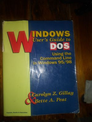 Windows Dos User's Guide for Sale in Chandler, AZ
