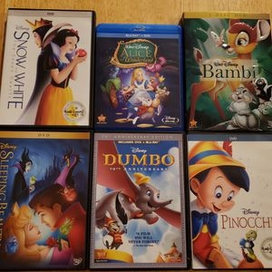 Classic Disney animated movies for Sale in Damascus, OR