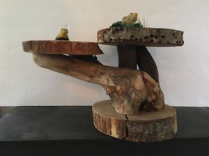 Handcrafted sculpture from natural woods for Sale in Hansville, WA