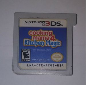 Cooking mama 4 Kitchen Magic for Sale in Los Angeles, CA