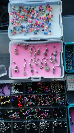 Awesome deal over 1,000 pieces of body jewelry of All Sorts brand new take all $200 special for Sale in San Diego, CA