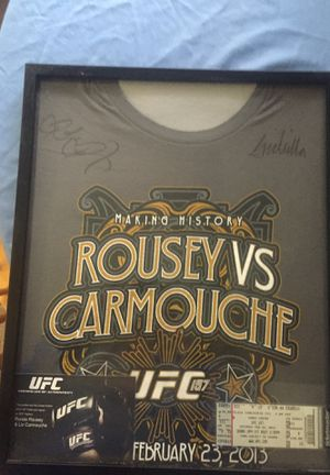 UFC 157 Signed by Rousey Vs Carmouche for Sale for sale  Anaheim, CA