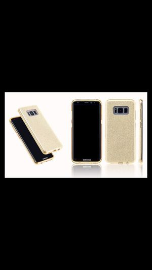 Samsung Galaxy S8 cover/Gold for Sale in Pittsburgh, PA