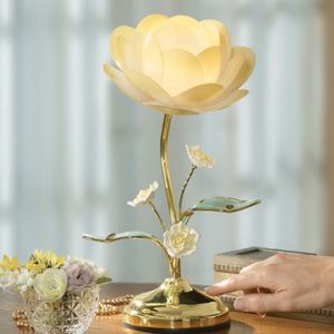 Lotus Flower Table Touch Lamp for Sale in Oak Park, IL